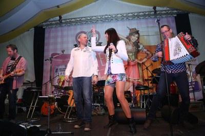 Bilder des Auftritts am Welser Volksfest am 31.3.2016Fotos: © Rahmanovic Jasmina/Cityfoto